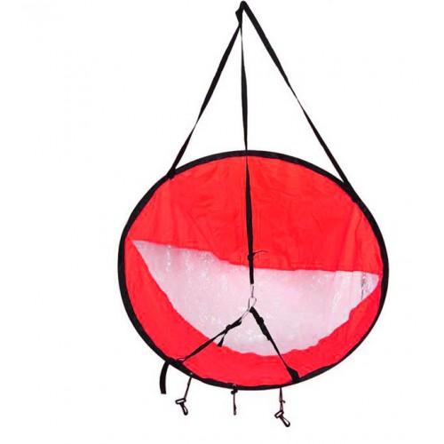 Round sail for kayak - 105cm
