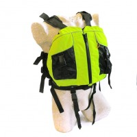 Life jacket for kayak one-size Neon Yellow
