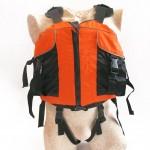 Life jacket for kayak one-size Orange