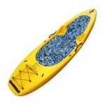 KungFU Kayak/SUP Winner with paddle and backrest - Yellow