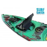 Leisure Dave Updated single kayak for fishing with rudder system Winner - White/Blue/Black