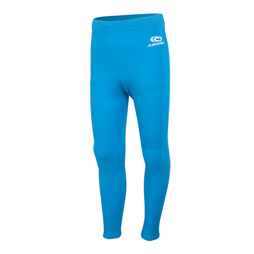 Lycra UV Long Pants for Kids light blue Aropec