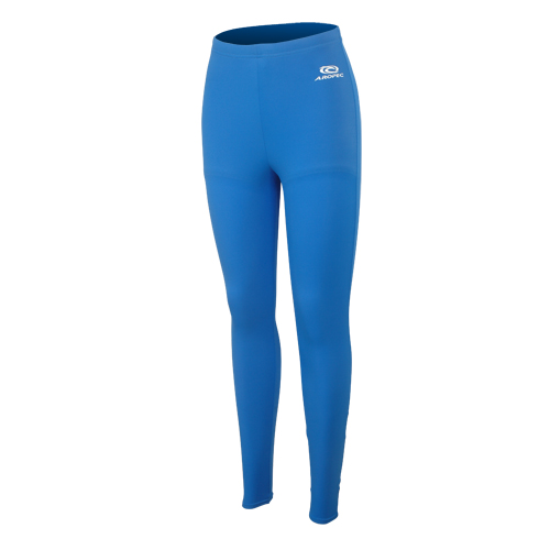 Lycra UV-cut Long Pants for woman light blue Aropec