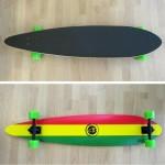 Longboard Pin-tail 41'' Reggae Fish
