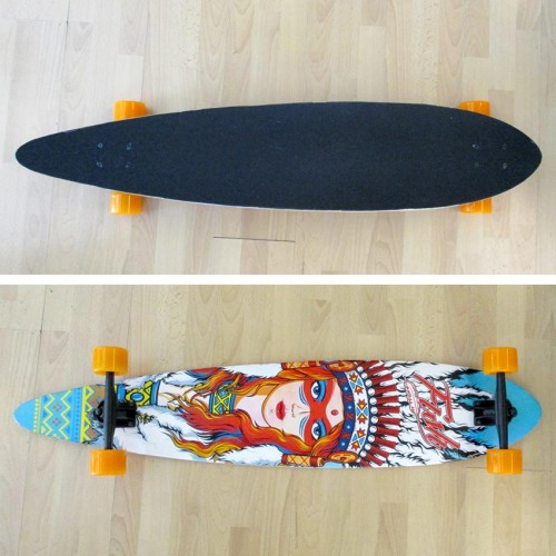 Longboard Pin-tail 41'' Ινδιάνα Fish