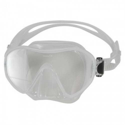 Single Lens Frameless Diving Mask clear silicon Aropec
