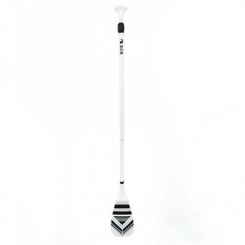 SUP Paddle adjustable 170-215cm reinforced aluminum SCK - White