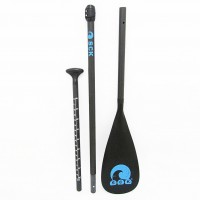 SUP Paddle adjustable 170-215cm with carbon saft SCK