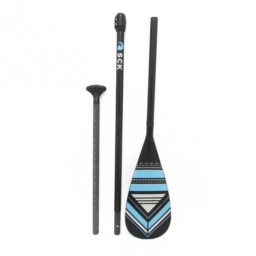SUP Paddle adjustable 170-215cm with fiberglass saft SCK