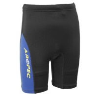 Lycra UV-cut Shorts for Kids Black Aropec