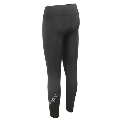 Lycra UV-cut Long Pants for woman black with Aropec logo
