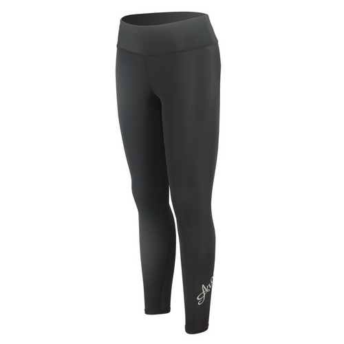 Lycra UV-cut Long Pants for woman black with Aropec logo