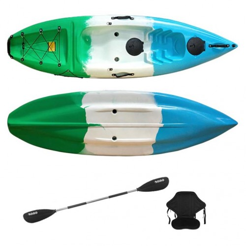 Single kayak Purity SCK with paddle and backrest