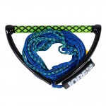 Handle with rope Prime Wake combo Jobe - Blue