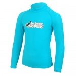 UV Lycra long sleeve for kids turquoise Aropec
