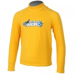 UV Lycra long sleeve for kids yellow Aropec