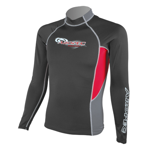 1.5mm Neoprene & UV Lycra Long Sleeve Rash Guard for Man Aropec