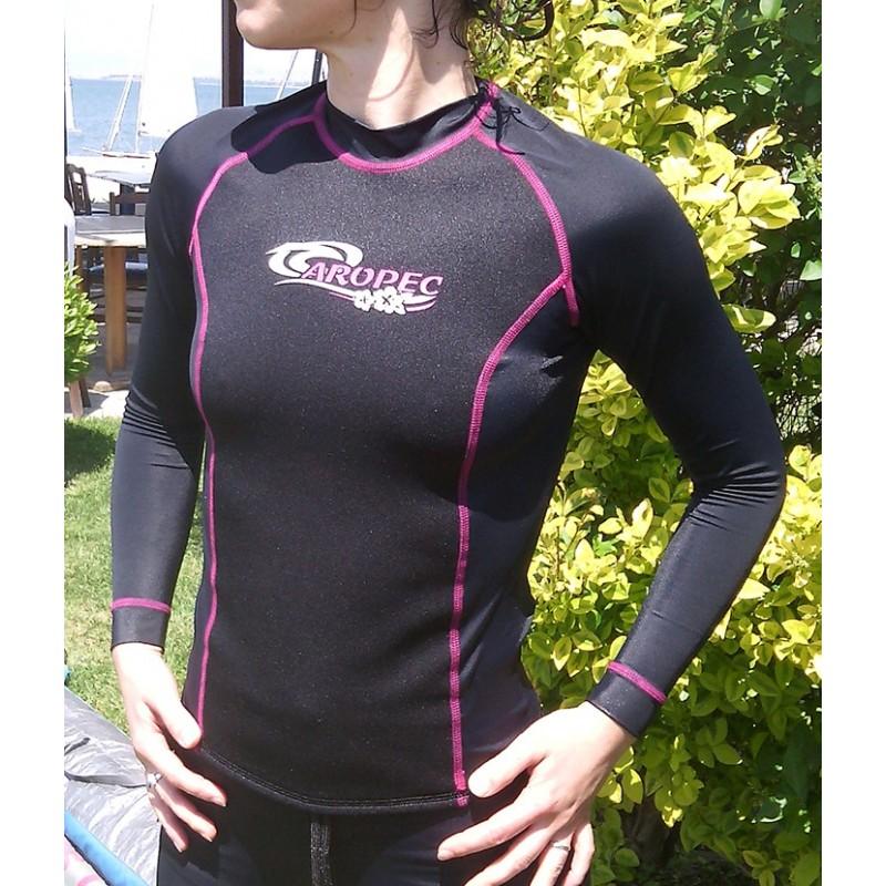 fcee11a2169e Νεοπρέν 1.5mm   UV Λύκρα μπλούζα γυναικεία Aropec