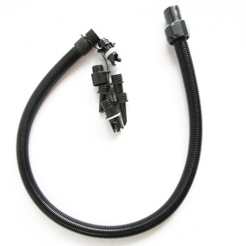 Replacement hose with various nozzles for electric SUP pump