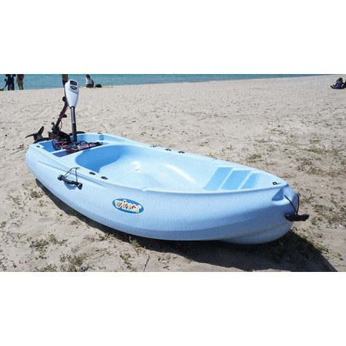 Rider 1-seat kayak with optional electric motor
