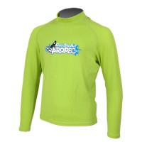 UV Lycra long sleeves for kids lime Aropec