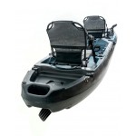 Cyclo 2 two-seater cycling kayak for fishing SCK black-blue