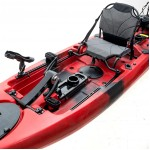 Cyclo 2 two-seater cycling kayak for fishing SCK red-black