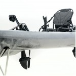 Cyclo 2 two-seater cycling kayak for fishing SCK white-black