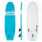 Soft surf board 6ft Blue SCK