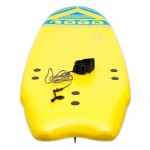 Soft surf board 6ft Yellow SCK