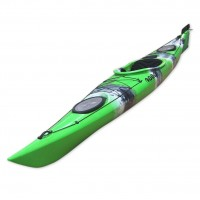 Dreamer Plus single sit-in kayak by SCK Green / White / Black