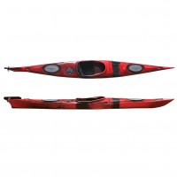 Dreamer Plus single sit-in kayak by SCK Red / Black