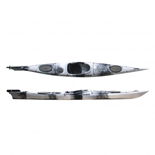 Dreamer Plus single sit-in kayak by SCK White / Black