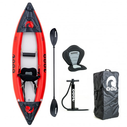 SCK NAVALE 1 single seat inflatable kayak with drop-stitch bottom