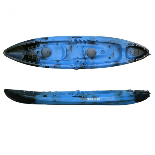 SCK Nereus sea Kayak 2+1 seats - Black/Blue