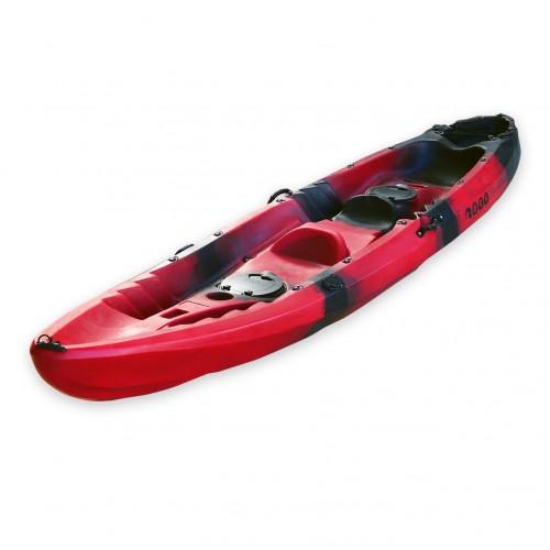 Nereus sea Kayak 2+1 seats SCK Red / Black