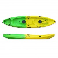 SCK Nereus sea Kayak 2+1 seats - Yellow/Green