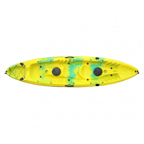 SCK Nereus sea Kayak 2+1 seats - Yellow/Blue