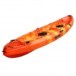 SCK Nereus sea Kayak 2+1 seats - Red/Yellow