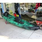 SCK Nereus sea Kayak 2+1 seats - Green/Black