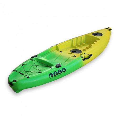 SCK Single kayak Purity Plus - Yellow/Green