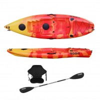 SCK Single kayak Purity Plus - Red/Yellow
