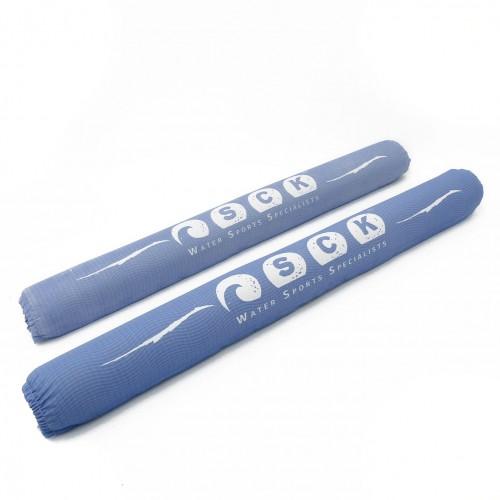 SCK pads for roof racks 80cm / set 2 pcs / Light Blue
