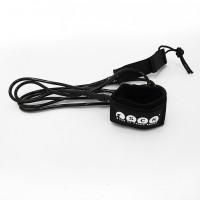 SUP leash straight 10ft SCK - Black