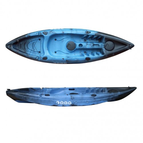 SCK Conger single seat fishing kayak - Blue/Black
