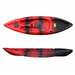 SCK Conger single seat fishing kayak - Red/Black