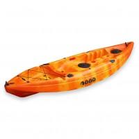 SCK Conger single seat fishing kayak - Red/Yellow