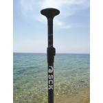 Adjustable SUP paddle Full Carbon 2 parts 174-220cm SCK