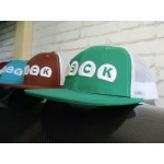 Snap Back Cap with mesh available in 4 different colors