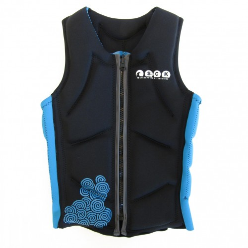 Impact vest for water sports SCK Blue